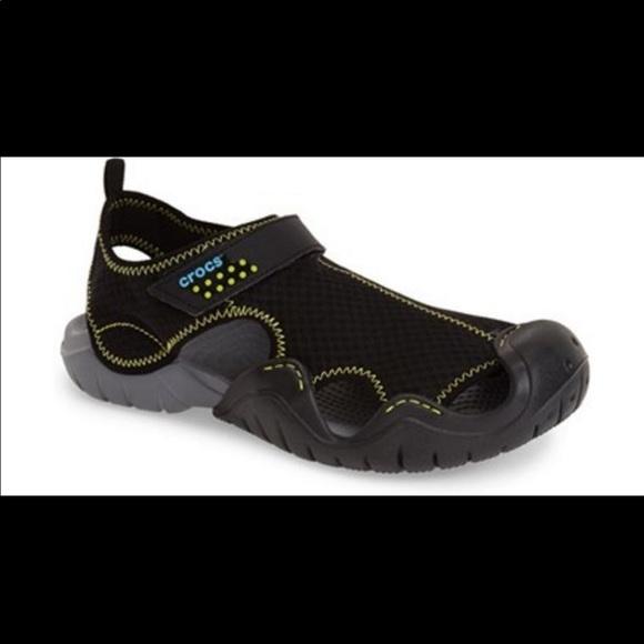 zniżka całkiem fajne buty temperamentu Men's Crocs Swiftwater water shoes size 9